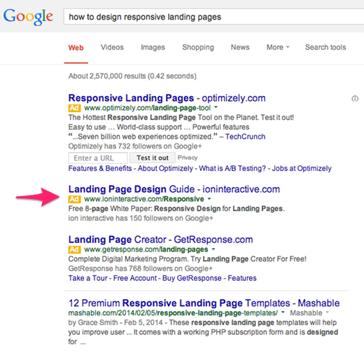 1 how to design responsive landing pages