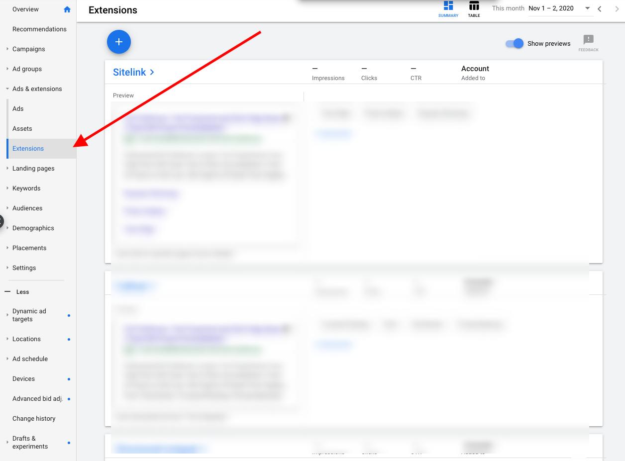 screenshot ads.google.com 2020.11.02 07 21 17