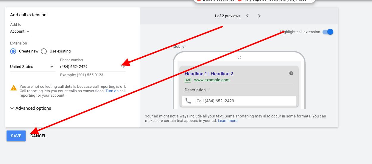 screenshot ads.google.com 2020.11.02 07 26 45